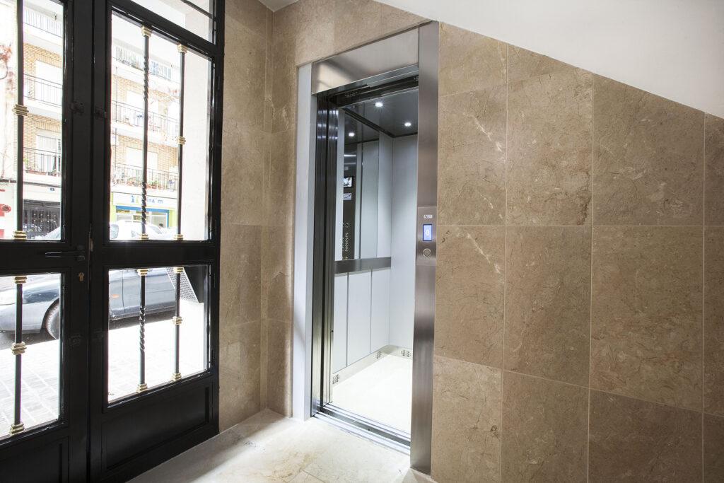Servicios de reparación ascensores